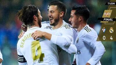 Real Madrid se impone con solvencia ante el Eibar