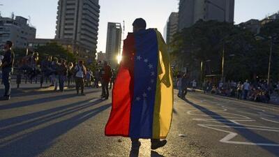 Con armas de fuego a manifestantes, Venezula