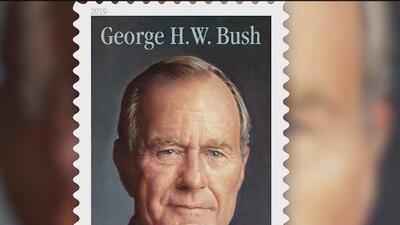 George H.W. Bush tendrá su propia estampilla de correo postal para ser recordado