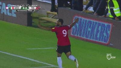 Trinidad y Tobago sorprende a México y le está ganando 1-0