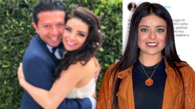 Violeta Isfel responde cuánta importancia le da a quienes critican su matrimonio