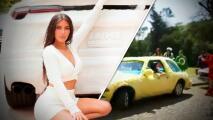 No, no es el auto de Ludovico P. Luche: Kim Kardashian presume su empeluchado y lujoso Lamborghini