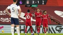 Liverpool toma liderato de la Premier al vencer a Tottenham