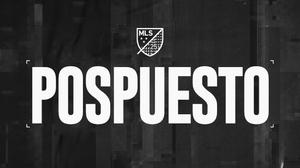 MLS pospone el partido del domingo entre Colorado Rapids y Sporting Kansas City