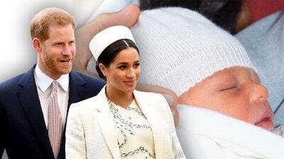 Reina la incertidumbre sobre el bautizo de Archie, el bebé de Meghan Markle y el príncipe Harry