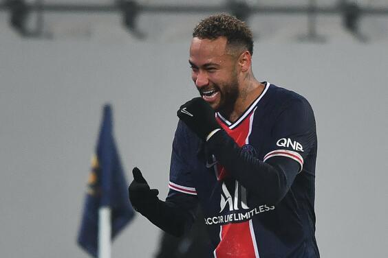 ¡Ya decidió! Neymar renovará con el PSG hasta el 2026
