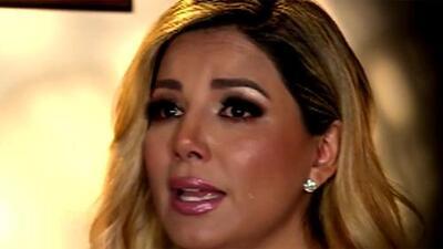 Entre lágrimas, Aleida Núñez revela que fue quemada con un cigarro y maltratada por un hombre que la engañó