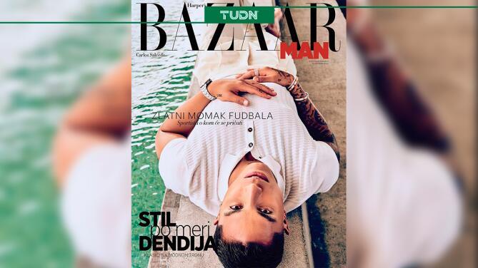 El 'Titán' acapara portada de prestigiosa revista de moda
