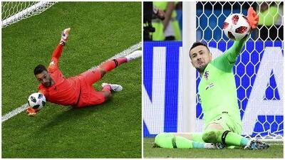 La seguridad de Lloris vs los reflejos de Subasic: duelo de arqueros en la final del Mundial