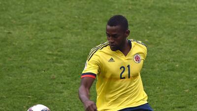 Jackson Martínez se lesionó y será baja contra Argentina