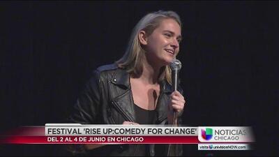 "Se llevó a cabo el evento de ""Rise up Comedy for the Change"" en Chicago"