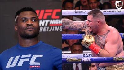 ¿Destroyer vs. The Predator? Quieren ver a Andy Ruiz en UFC ante Francis Ngannou