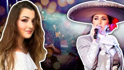 La hija de Alicia Villarreal es igual a su mamá y ahora también quiere ser cantante