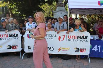 En fotos: Así compartieron la Unidad 41 y El Tiempo con la comunidad de Union City en Juan Pablo Duarte Park