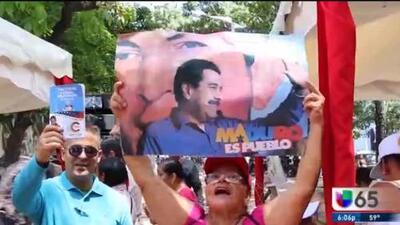 Reacciones ante las elecciones en Venezuela