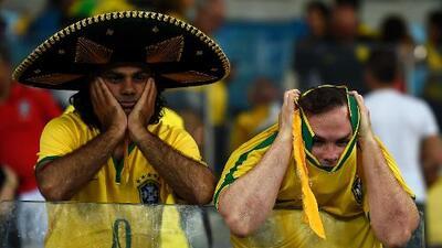 Brasil tiene mala racha mundialista en partidos con silbantes mexicanos