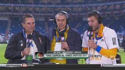 """Gignac a la afición de Rayados: """"Deben saber que tienen un gran equipo, ojalá ganen la Copa"""""""