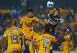 En fotos: América saca un punto del 'Volcán' ante Tigres en el regreso de Ochoa a la Liga MX