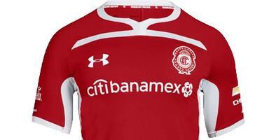 Camiseta Oficial de Toluca de la Liga MX