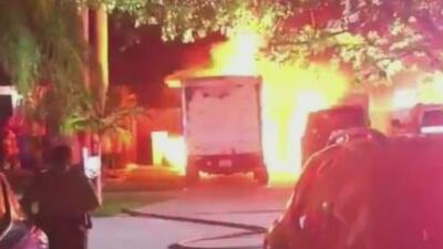 Hombre acusado de incendiar el camión de un excompañero de trabajo sale libre bajo fianza