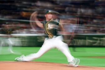 Las mejores imágenes del Spring Training del 18 de marzo: béisbol de importación