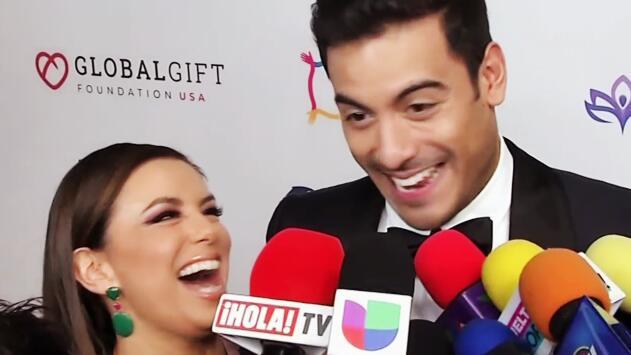 Ricky Martin, Maluma y ahora Carlos Rivera: Eva Longoria contó qué planes tiene con el cantante