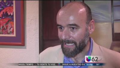 Candidato pone a las familias inmigrantes al centro de su campaña por el Distrito 46