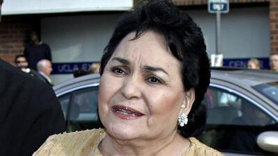Carmen Salinas dice que Geraldine Bazán es la culpable de que Gabriel Soto le haya sido infiel