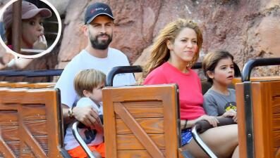 Shakira rompe la dieta en Disney y estas fotos evidencian que hasta se chupó los dedos