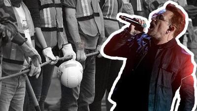 El amor de U2 por México en sus horas más oscuras