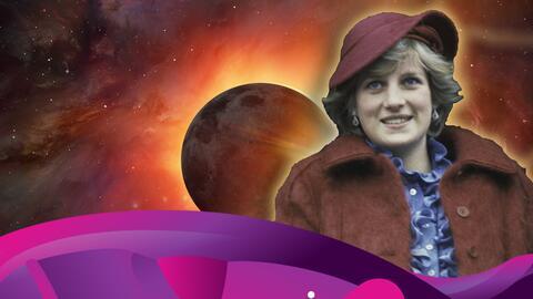 Descubre la relación que tuvieron los eclipses en la vida de la Princesa Diana.