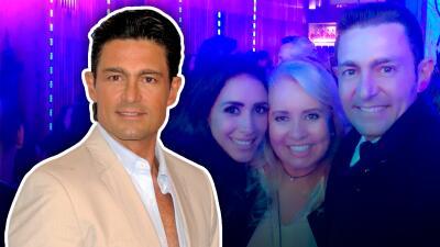 Con un 'look' distinto, Fernando Colunga reaparece en la posada de Televisa