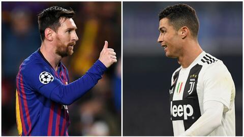 """Messi le envió 'flores' a Cristiano por su tripleta con la Juve: """"Tuvo una noche mágica"""""""