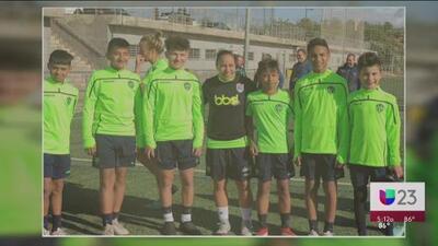 Futbolistas de Dallas a España