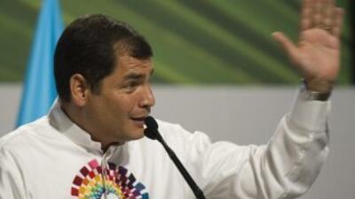 Gremio mundial de diarios denuncia hostigamiento de Correa