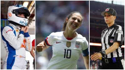 Mujeres que incursionaron en terrenos masculinos del deporte