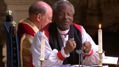 No fue Meghan ni Harry, fue un obispo el que se robó el show en la boda real