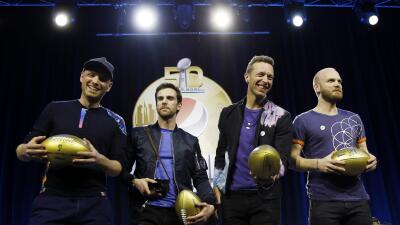 Coldplay promete un inolvidable Medio Tiempo del Super Bowl 50