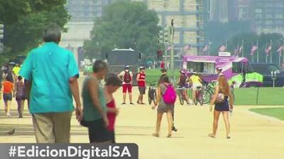 Residentes de San Antonio viven el fin de semana más caluroso del año