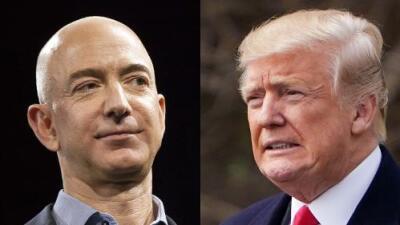 Trump vs. Amazon: analizamos las medias verdades del presidente, quien sigue atacando al gigante del comercio en internet