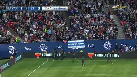 Alphonso Davies, la nueva joya del Bayern Munich, se luce y marca el primero para Vancouver