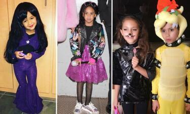 Los mejores disfraces de Halloween de los hijos de los famosos