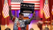 """El triunfo del """"elefante"""" Trump frente a Dulce Candy"""