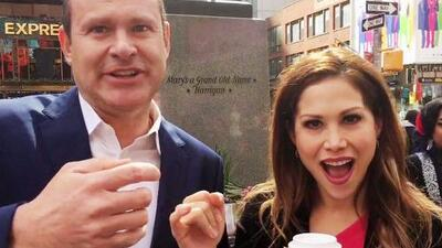 Detrás de cámaras: Bianca Marroquín le reclamó a Alan Tacher y él le hizo una promesa