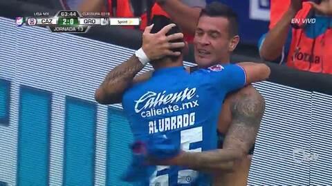 ¡GOOOL! Milton Caraglio anota para Cruz Azul
