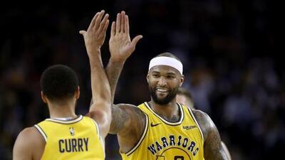 Warriors podrán contar con DeMarcus Cousins para el Juego 1 de las Finales