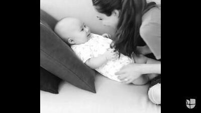 Anahí nos embelesa hasta como mamá con el tierno canto a su bebé