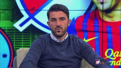 David Villa dijo presente en Contacto Deportivo