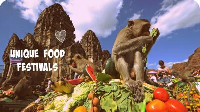 4 festivales de comida insospechados