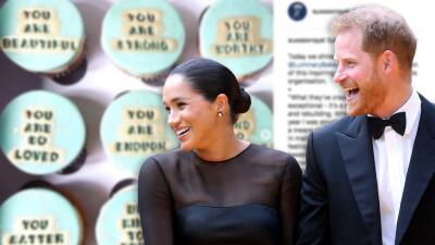 Meghan y Harry comparten mensajes motivadores en 'cupcakes' por una buena causa (y tras recibir apoyo de amigos)